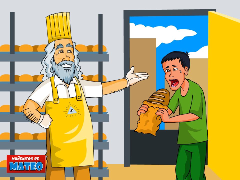 dios le da pan